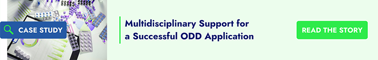 Multidisciplinary Support for a Successful ODD Application
