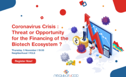 Post thumbnail CORONAVIRUS CRISIS : THREAT OR OPPORTUNITY FOR THE FINANCING OF THE BIOTECH ECOSYSTEM?