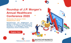 Post thumbnail ROUNDUP OF J.P. MORGAN'S ANNUAL HEALTHCARE CONFERENCE 2020