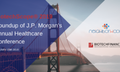 Post thumbnail ROUNDUP OF J.P. MORGAN'S ANNUAL HEALTHCARE CONFERENCE